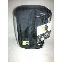 Case Logic Compact Camcorder/High Zoom Camera Case - - Dobby Nylon - Black - Black