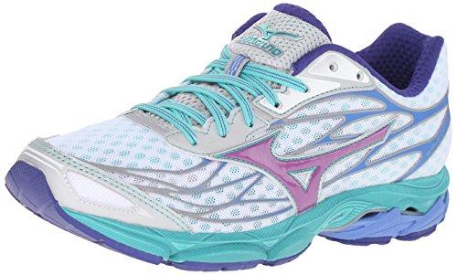 Preisvergleich Produktbild Mizuno Frauen Wave Catalyst Low & Mid Tops Schnuersenkel Tennisschuhe Mehrfarbig Groesse 6 US / 37 EU