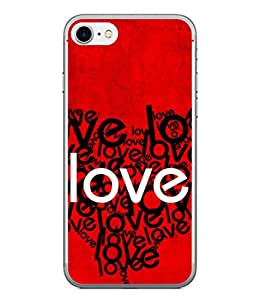 PrintVisa Designer Back Case Cover for Apple iPhone 6s Plus :: Apple iPhone 6s+ (Wallpaper Notes Graphic Creative Abstract Couple)