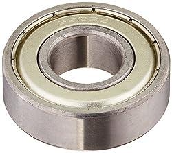 Sourcingmap Silber Ton Elektromotor 6202z 15 X 35 X 11 Mm Metall Geschirmt Kugellager
