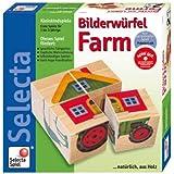 Selecta 2485 La Granja - Puzzle de cubos para bebés (4 cubos)