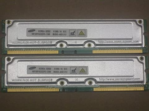 Dell Dimension 8250 8200 1GB RDRAM Rambus PC800 40ns