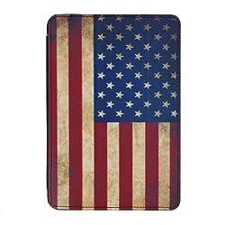 Schutzhülle / Hülle / Cover / Case / Kratzschutz für Apple iPad mini 2 / iPad mini 3  Sehr hochwertig verarbeitete Kunstledertasche mit innenliegender Hartschale und USA Design im heavy used-look. Diese Hülle hebt sich von den bekannten Schutzhüllen ...