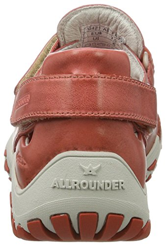 Allrounder by Mephisto Firelli, Chaussures Multisport Outdoor Femme Orange (Burnt Orange)