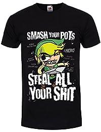 Grindstore Men's Smash Your Pots T-Shirt Black
