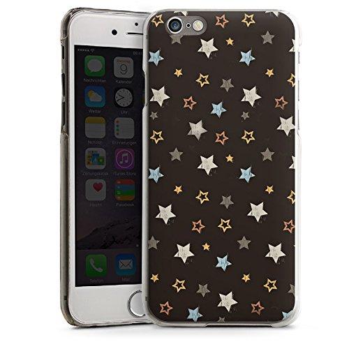 Apple iPhone 5 Housse étui coque protection Étoiles Rockstar Sombre CasDur transparent