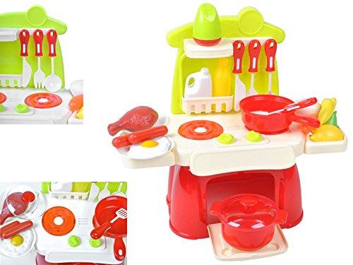 Preisvergleich Produktbild Kinderküche XS Spielküche für Puppen Kinderspielküche Spielzeugküche Küche #1306