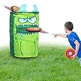 KreativeKraft Jeux Exterieur Enfant, Jeux de Plein Air pour Enfant Et Adulte, Inclus 3 Frisbee Disques, Jeu pour Fête Anniversaire, Jouet De Jardin, Ensemble pour Jouer en Famille Camping, Plage