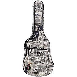 Funda de Guitarra Ammoon 600D Resiste al Agua