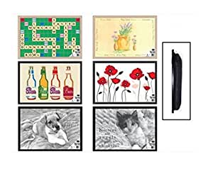 Cushioned Dog Design Bean Bag Lap Tray Beanbag Cushion TV Bed Dinner Laptop