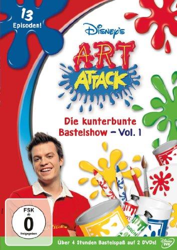 Die kunterbunte Bastelshow, Vol. 1 (2 DVDs)