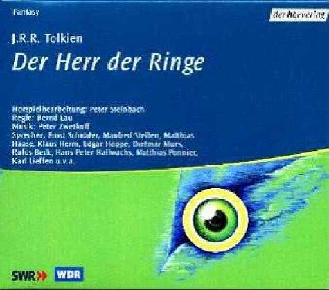 Der Herr der Ringe, Audio-CDs, Tl.1-30, 11 Audio-CDs. 756 Min. -