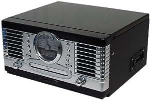 roadstar hif 9088tumpn cha ne hi fi syst me avec tourne disque cd cassette usb sd amazon. Black Bedroom Furniture Sets. Home Design Ideas
