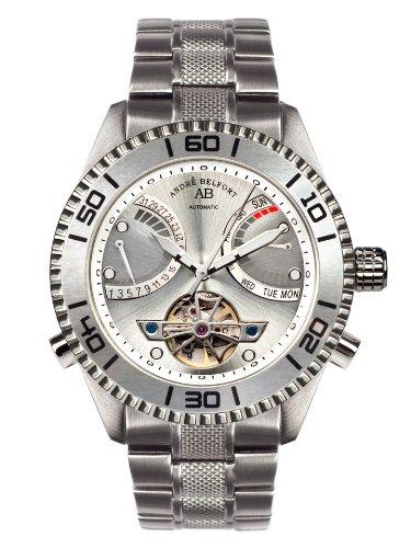 André Belfort Men's Voilier Watch 410159 Steel Silver