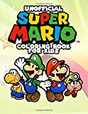 Super Mario Coloring Books For Kids: 60 Illustrations and Images to Make Your Children Creative, Unofficial Coloring Book for Toddler, Primary ... Luigi, Waluigi, Yoshi, Princess, & Bowser