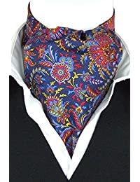 Lombardo on Navy Fine Silk Cravat