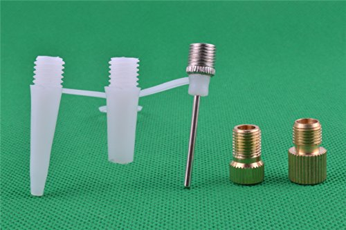 Sport Football Basketball Air Inflator Pump Ball Nozzle Adapter Needle Kit Test