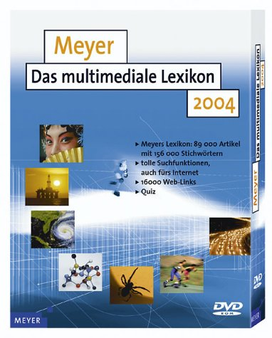 Meyer - Das multimediale Lexikon 2004  (PC-DVD)