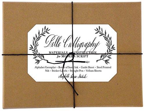 Belle Calligraphy Kit: Materials and Instruction for Modern Script por Maybelle Imasa-Stukuls
