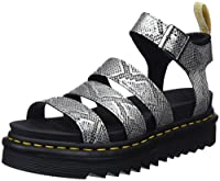 The V Blaire is a vegan take on an everyday sandal. Crafted from the Metallic Snake material and equipped with an adjustable Y strap, yellow stitching and the new Ziggy sole. Complete with signature DM's branding.  Metallic Snake is a PU coat...