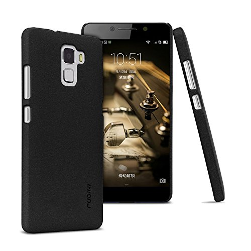 Tarkan Pudini QuickSand Matte Slim Hard PC Back Case Cover For Huawei Honor 7 (Sandstone Black)