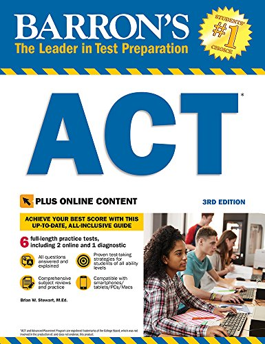Barron's ACT with Online Tests (Barron's Test Prep) - Act-test Barron