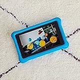 Kindgerechte Amazon FreeTime-Hülle für Fire 7 (7-Zoll-Tablet, 7. Generation - 2017), Blau