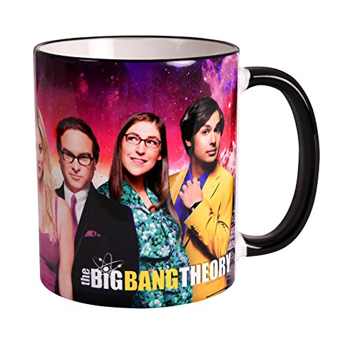 Big Bang Theory Cup Carácter Collage 320ml Elven Forest Pottery