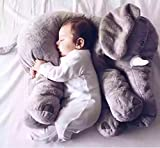 Kisspet Baby Elephant Stuffed Plush Pillows Cushion Toys Comfort Doll for Children