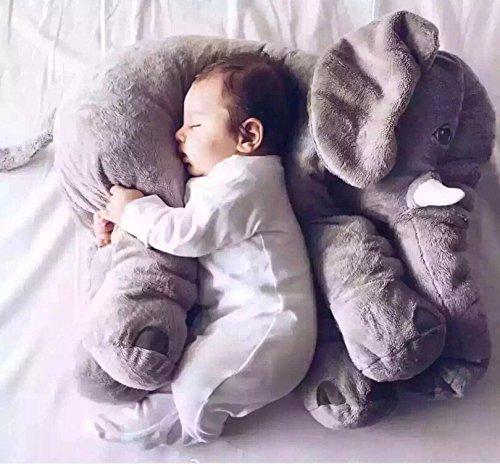 Kisspet Baby Elephant Stuffed Plush Pillows Cushion Toys Comfort Doll for Children