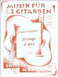 Milonga A Deux: Pour Deux Guitares (Edition Margaux)