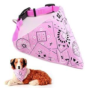 Bandana en triangle réglable pour chien ou chat