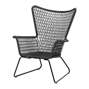 IKEA HOGSTEN - Fauteuil, noir