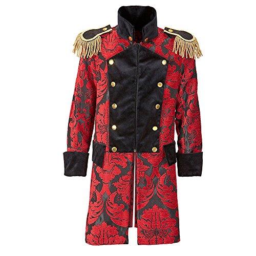 en Mantel Jaquard Parade kostüm, XL (Historisches Herren Kostüm Muster)