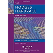 The Hodges Harbrace Handbook (The Harbrace Handbook Series) by Cheryl Glenn (2016-01-01)