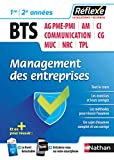 Management des entreprises BTS 1re et 2e années (Réflexe)