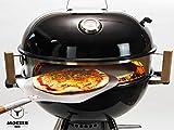 moesta de BBQ Smokin 'Anillo de pizza para barbacoa
