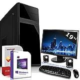 Komplett PC System Set mit 19 Zoll TFT AMD FX-6300 8 GB Win 10 64 Bit Computer Re