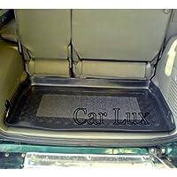 Car Lux AR01486 - Alfombra Bandeja Cubeta Protector cubre maletero a medida con antideslizante