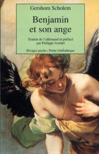 Walter Benjamin et son ange par Gershom Scholem
