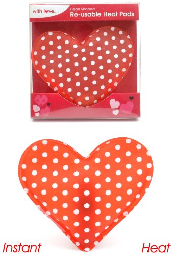 Preisvergleich Produktbild PMS - Ladies Love Heart Hand Heat Pad - Assorted Styles