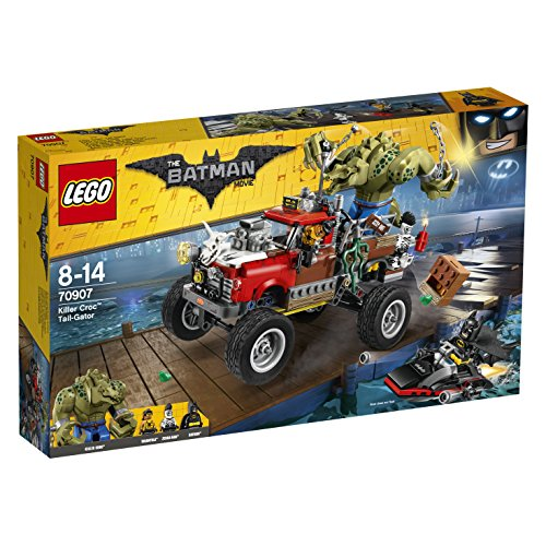 LEGO The Batman Movie 70907 - Killer Crocs Truck, Batman Spielzeug - Lego Batman-stadt