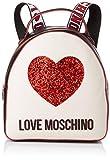 Love Moschino Nappa Pu Mix, femme, Multicolore (Nero/Avorio), 15x10x15 cm (W x H L)