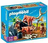 PLAYMOBIL 5102 - Säbelzahntiger mit Knochenjägern