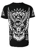 Search : All Seeing Eye Genuine Darkside Mens T Shirt Occult Nu Goth Satanic Gothic Alternative Clothing