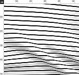 Streifen, Gestreift, Schwarz Und Weiß, Horizontale