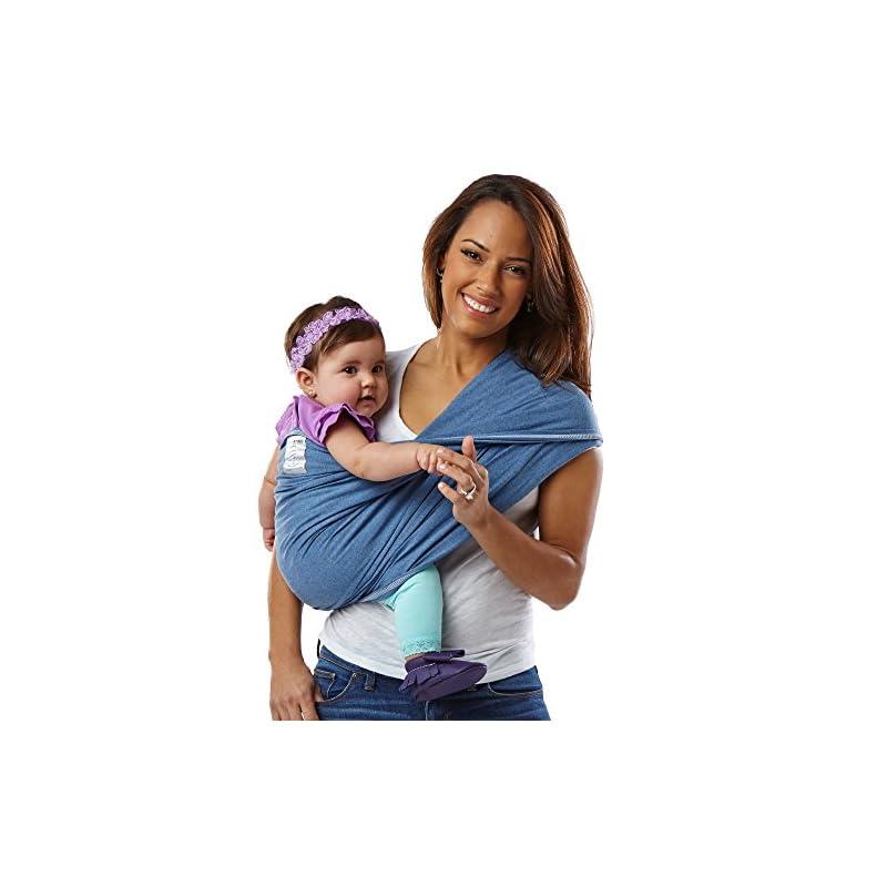 Baby K'tan Cotton Denim Baby Carrier (XS)