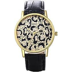 Women's watch Reloj De Moda Reloj De Cuarzo Reloj Leopardo Creativo Esfera Femenina Leopardo,1