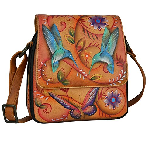 anuschka-hand-painted-luxury-483-leather-triple-compartment-crossbody-organizer-flying-jewels-tan