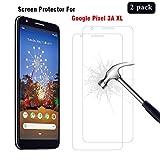 AhaSky [2 Stück Schutzfolie für Google Pixel 3A XL Panzerglas, HD Bildschirmschutzfolie, 9H Härte Schutzfolie, [Anti-Kratzer/Bläschen/Fingerabdruck/Staub] Panzerglasfolie für Google Pixel 3A XL